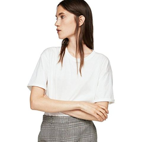 Prince of Wales Wool-Blend Skirt