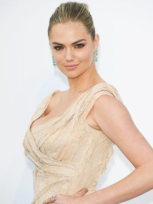 Kate Upton's Wedding Dress Had the Prettiest Sheer Details
