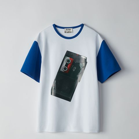 Nite White/Cyan Blue T-Shirt