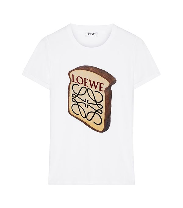 Toast Printed Stretch-cotton T-shirt