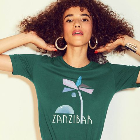 Zanzibar French Cut T-Shirt