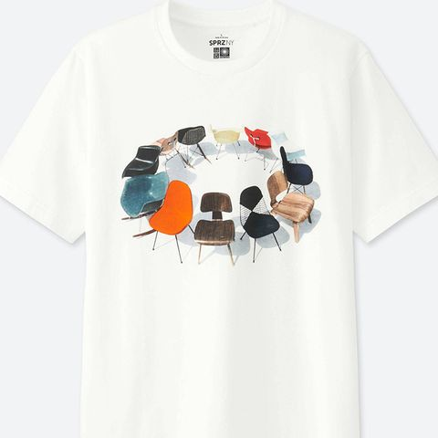 Sprz NY Eames Short-Sleeve Graphic T-Shirt