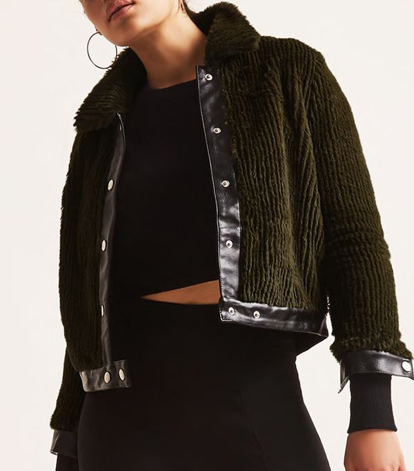 Goldie London Faux Fur Jacket
