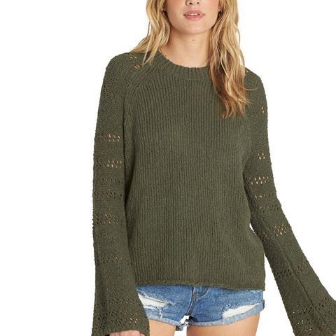 Cozy Love Bell Sleeve Sweater