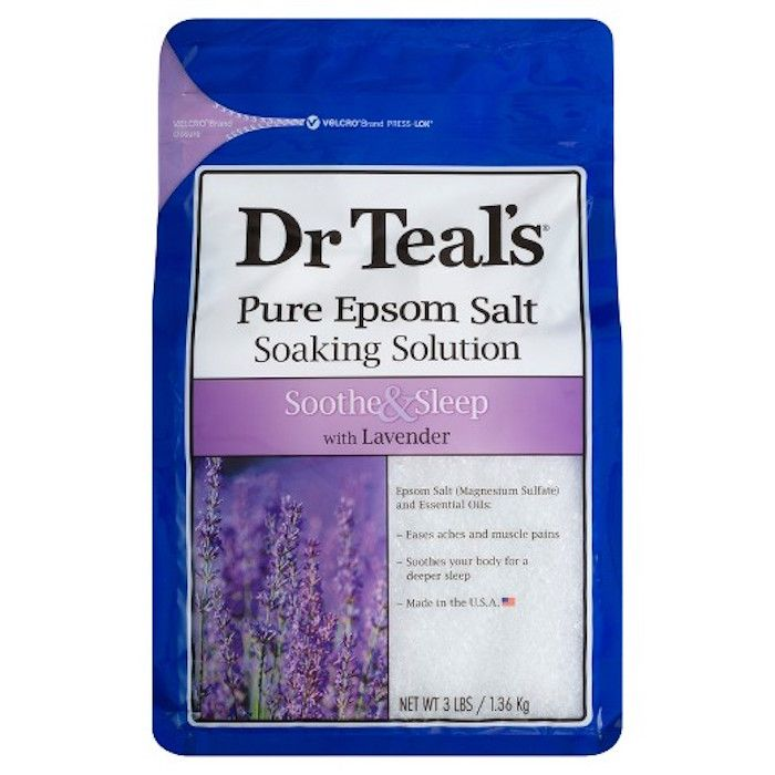 Pure Epsom Salt Lavender Soaking Solution by Dr. Teal's