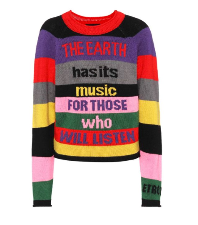 Etro Wool Intarsia Sweater