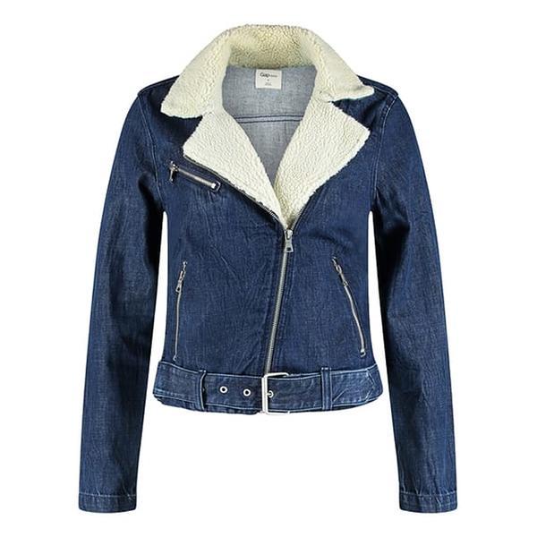 Sherpa-Lined Denim Jackets