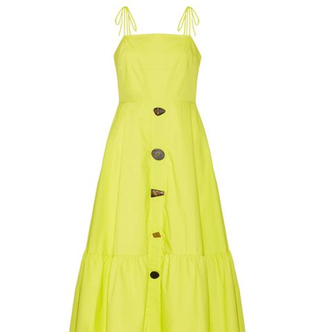 Maria Cotton-Poplin Midi Dress