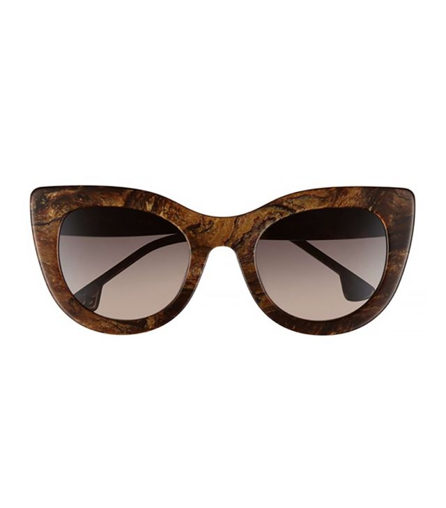 Alice + Olivia Delancey 51mm Cat Eye Sunglasses