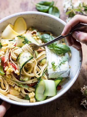 This Is Exactly How a Dietitian Make Her Pasta Dishes Healthier