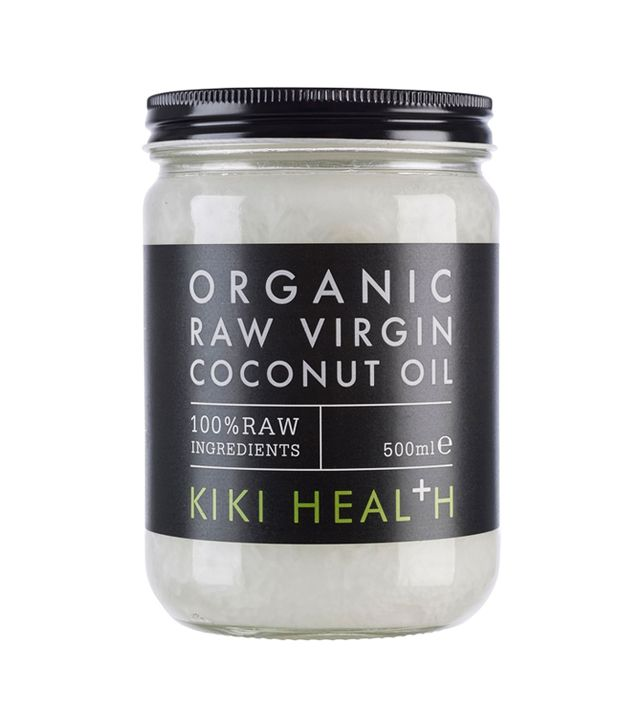 Home remedies for whiter teeth: Kiki Health Coconut Oil