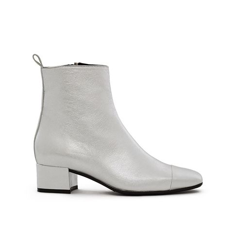 Metallic Estime Ankle Boot