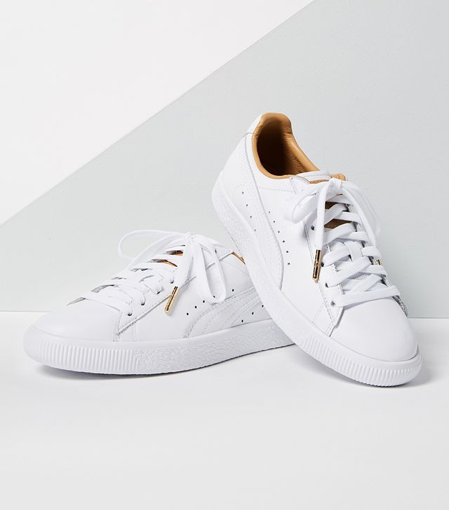Clyde Core Leather Sneakers