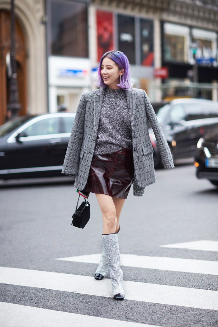 How to Wear Glitter Shoes   Who What Wear