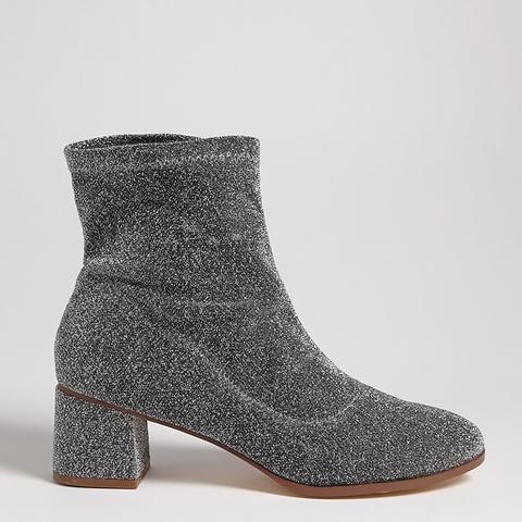Glitter Sock Boots