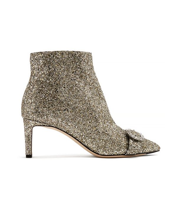 Hanover 65mm glitter ankle boots