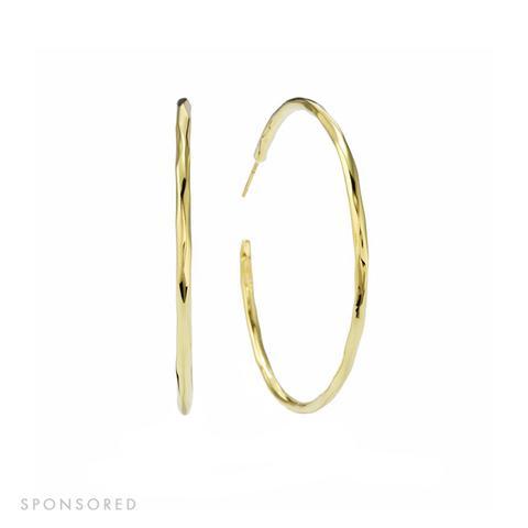 Extra Large Hoop Earrings in 18K Gold