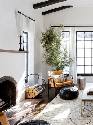 Cozy Living Rooms That Will Make You Want to Curl Up Fireside This Season
