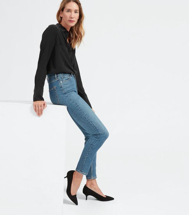Everlane High-Rise Skinny Jeans