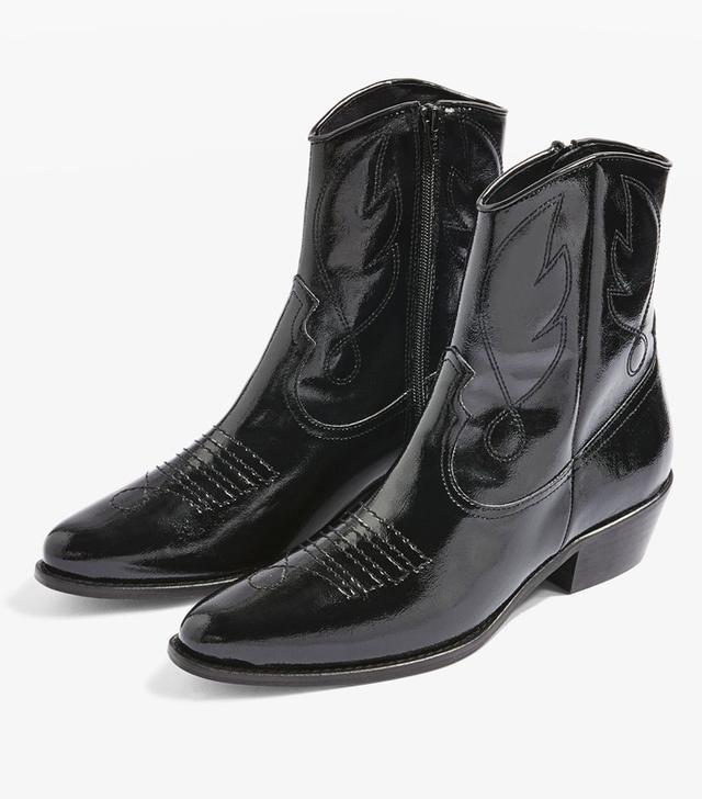 Topshop Arizona Western Boots