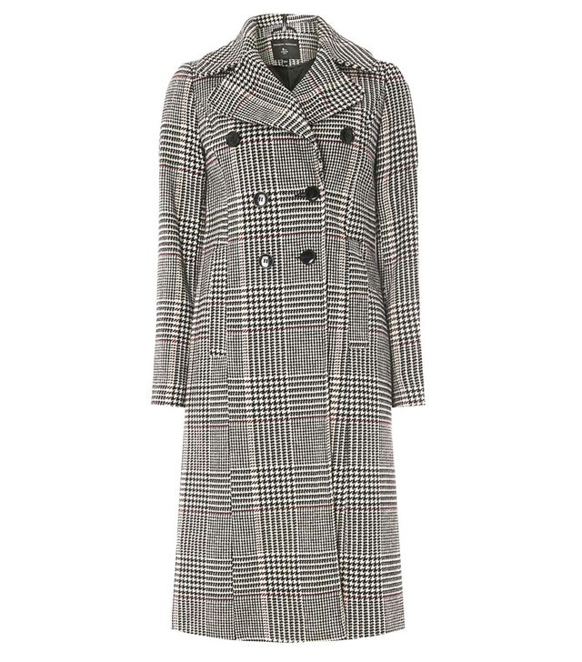 Dorothy Perkins Check Double Breasted Coat
