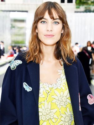 "Alexa Chung Wore the Perfect Party Look for Girls Who Hate Feeling ""Too Done"""