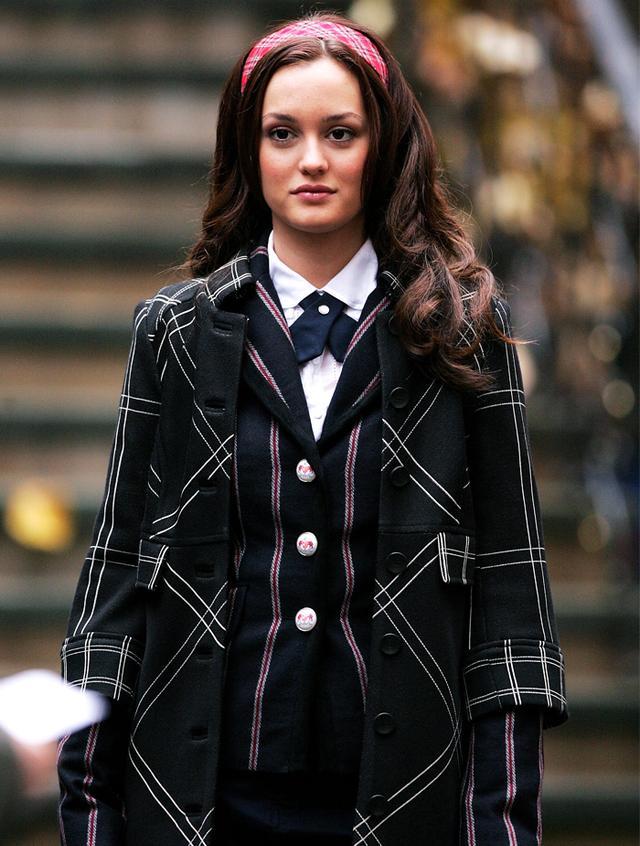 Leighton Meester Blair Waldorf style:
