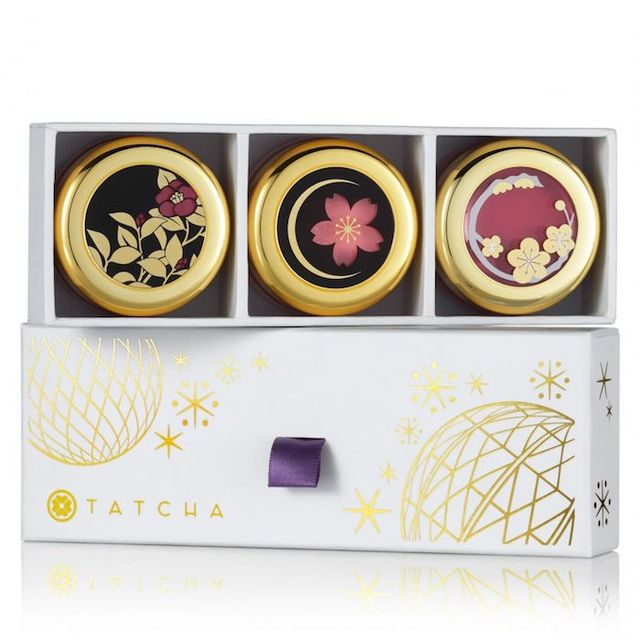 Tatcha Camellia Kisses Lip Balm Trio