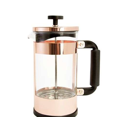 Copper Coffee French Press
