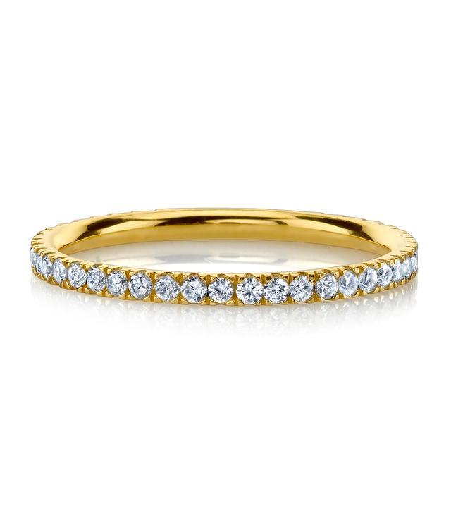 The Last Line Perfect Diamond Eternity Pinky and Midi Ring