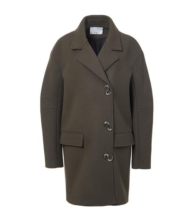 Felted Wool Oversized Coat
