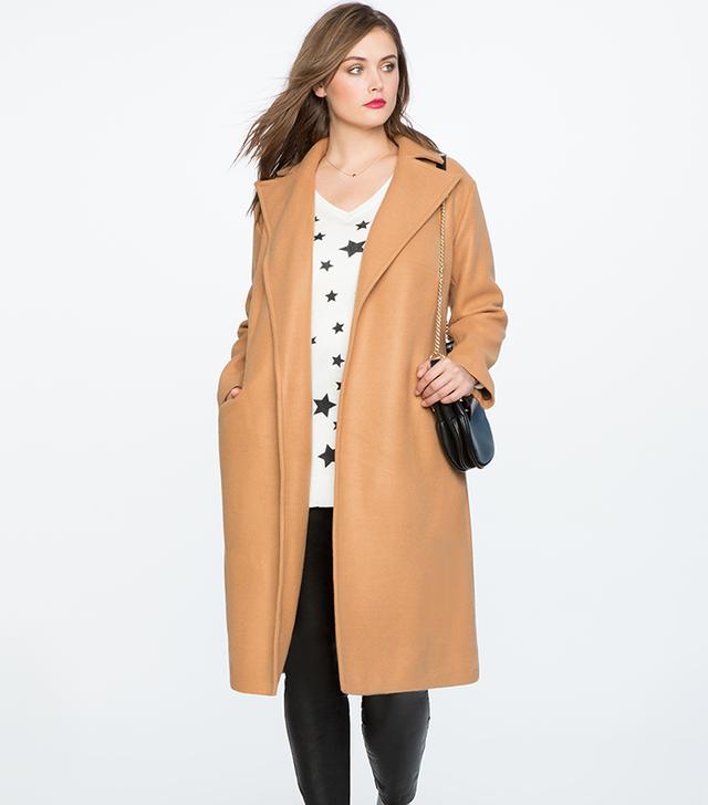 Eloquii x Kate Sturino Tie Waist Robe Coat