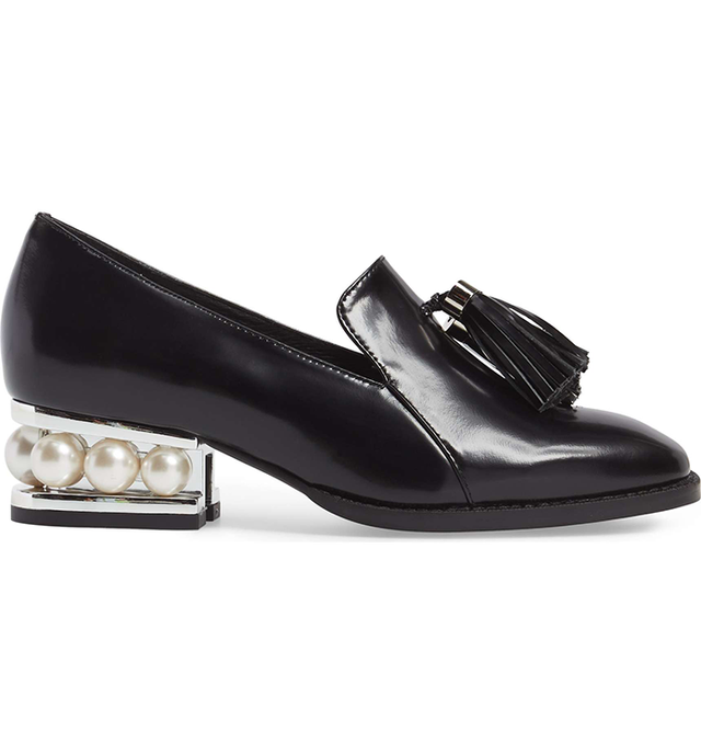 Lawford Pearly Heeled Loafer