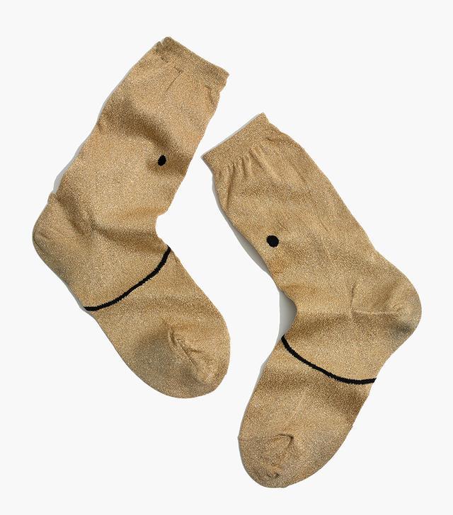 Fuzzy Trouser Socks