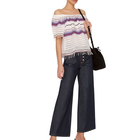 Charlotte High-Rise Wide-Leg Jeans
