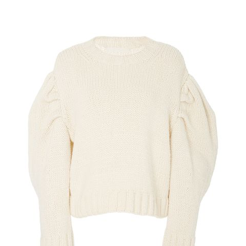 Drop Puff Sleeve Sweater