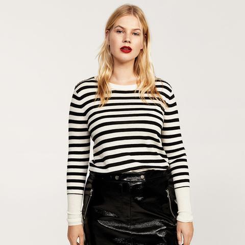 Mini Vinyl Skirt