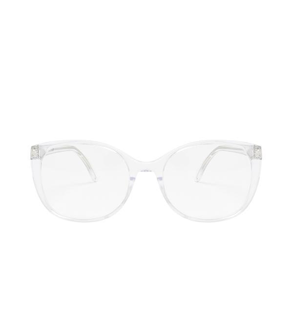 trendy clear glasses