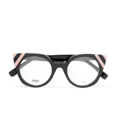 Cat-Eye Acetate Optical Glasses