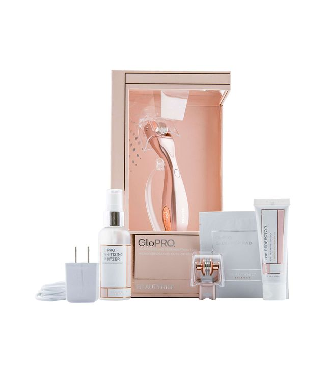 Beauty Bioscience GloPRO® Rose Gold Microneedling Regeneration Tool & Eye MicroTip™ Set