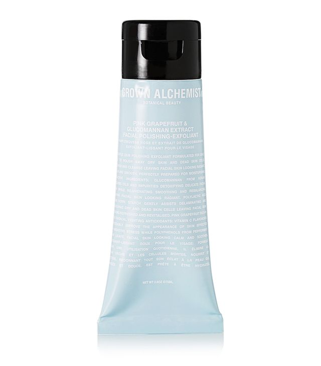 Best face scrub: Grown Alchemist Polishing Facial Exfoliant