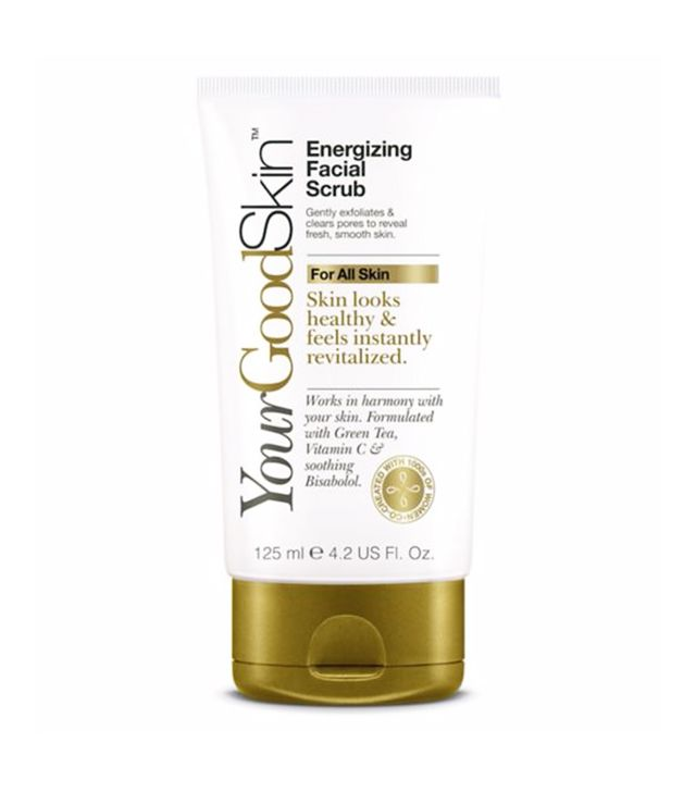 Best face scrub: YourGoodSkin Energizing Facial Scrub
