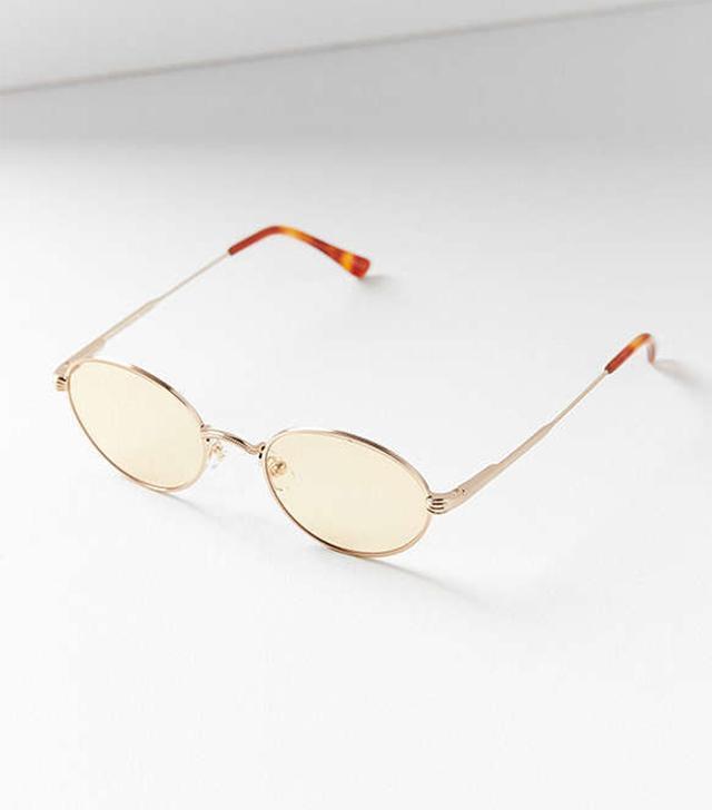 Crap Eyewear The New Riddim Oval Sunglasses