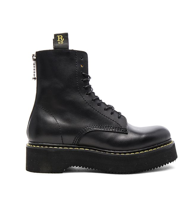 R13 Leather Boots