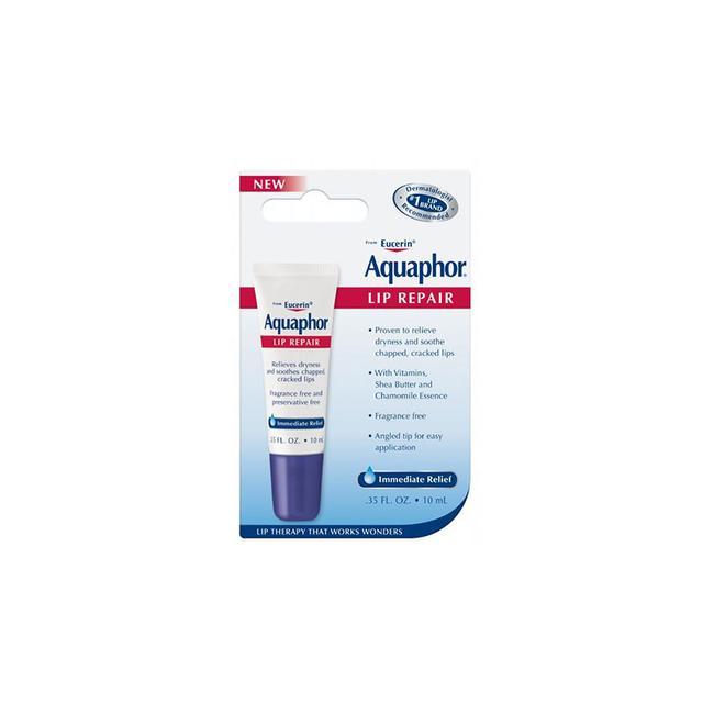 Aquaphor Lip Repair - travel beauty products