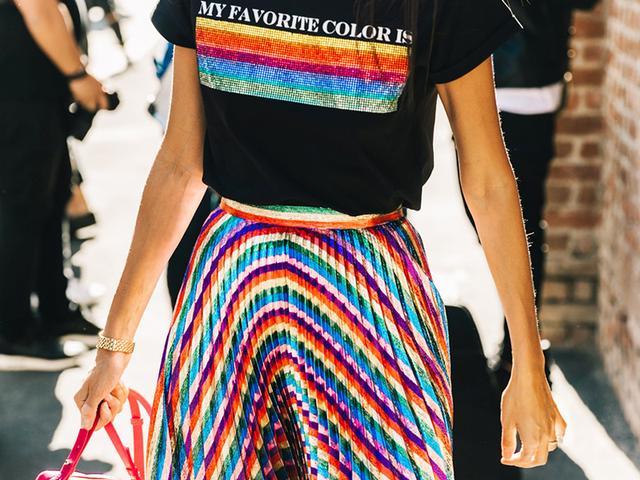 multicolored jewelry trend