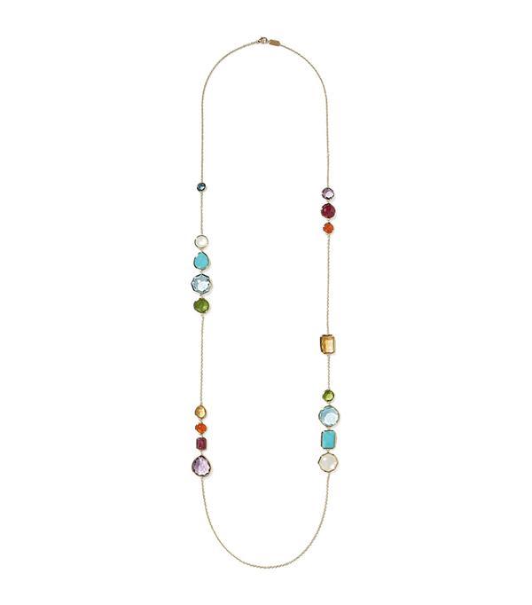 Rock Candy Gelato Hero 18-karat Gold Multi-stone Necklace