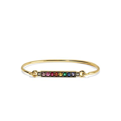 18-Karat Gold Multi-Stone Bracelet