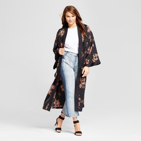 Silky Robe Coat