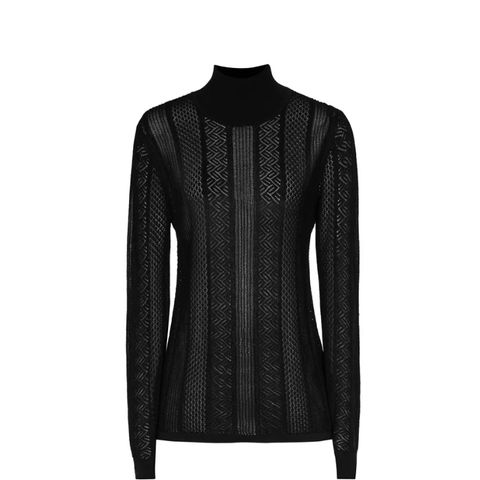 Suki Semi-Sheer Patterned Jumper